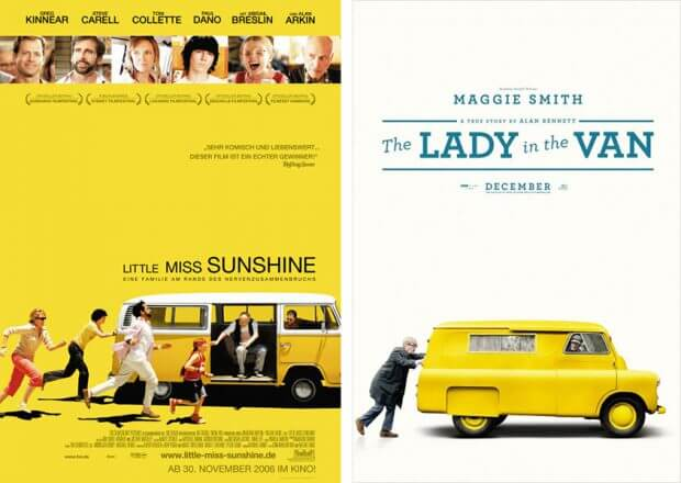 """Little Miss Sunshine"" und ""The Lady in the Van"""