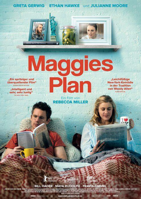 "Filmplakat zu ""Maggies Plan"""