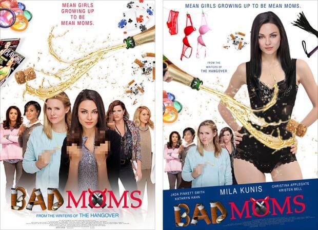 "Filmplakate zu ""Bad Moms"""