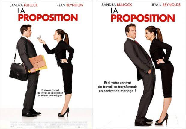 """Französische Filmplakate zu """"Selbst ist die Braut"""""""