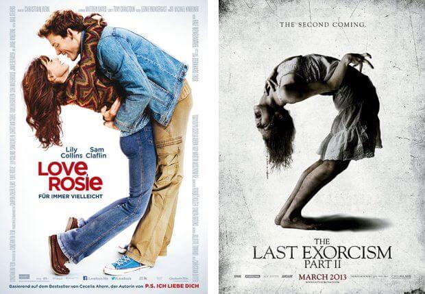 """""""Love, Rosie - Für immer vielleicht"""" und """"Der letzte Exorzismus 2"""""""