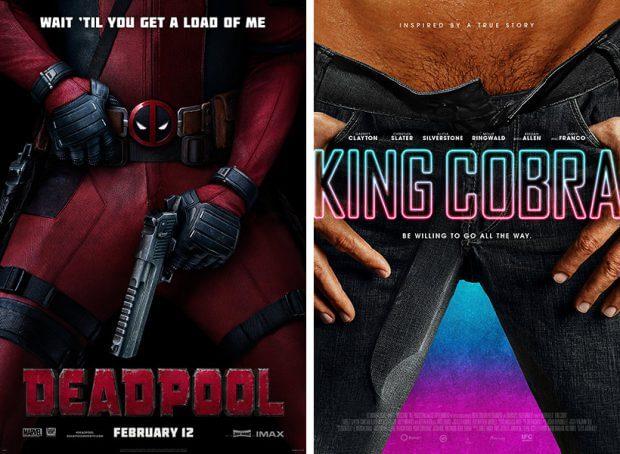 """Deadpool""und ""King Cobra"""