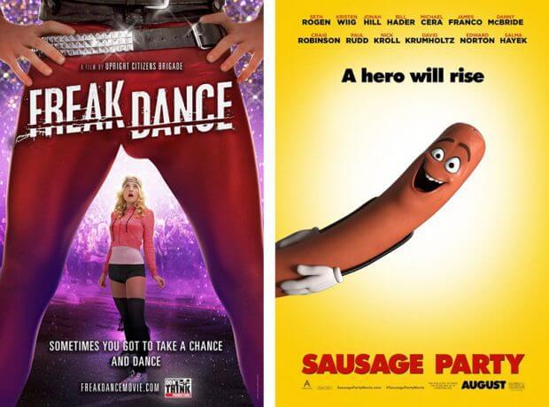 """""""Freak Dance""""und """"Sausage Party - Es geht um die Wurst"""""""