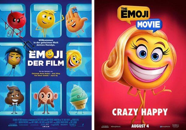 """Filmplakate zu """"""""Emoji - Der Film"""""""