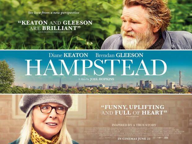 """UK-Filmplakat zu """"Hampstead Park - Aussicht auf Liebe"""""""