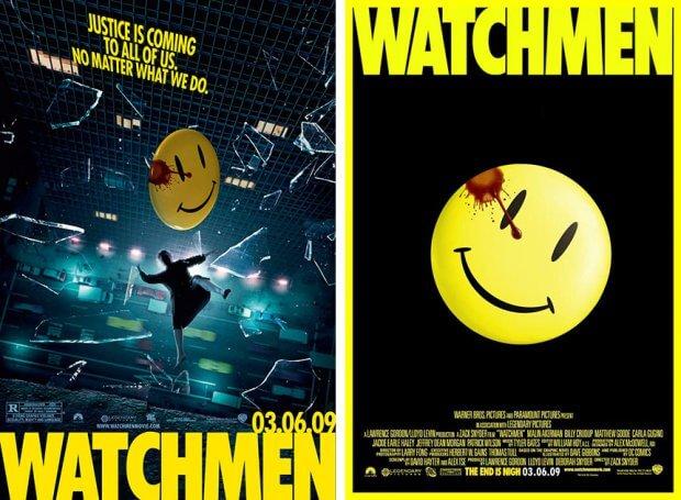 """Filmplakate zu """"Watchmen - Die Wächter"""""""