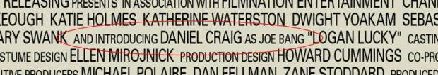 and introducing Daniel Craig als Joe Bang