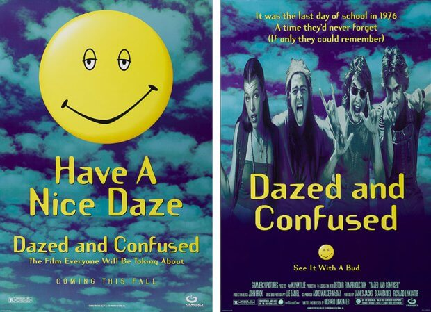 """Filmplakate zu """"Dazed and Confused"""""""