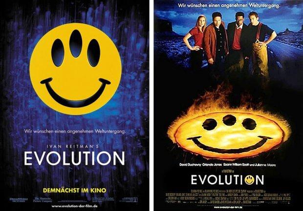 """Filmplakate zu """"Evolution"""""""