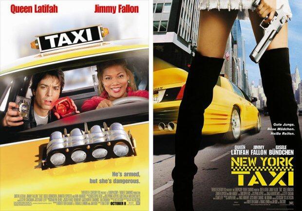 """Filmplakate zu """"New York Taxi"""""""
