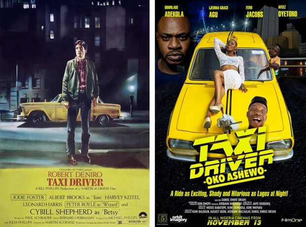 """Taxi Driver"" vs. ""Taxi Driver: Oko Ashewo"""