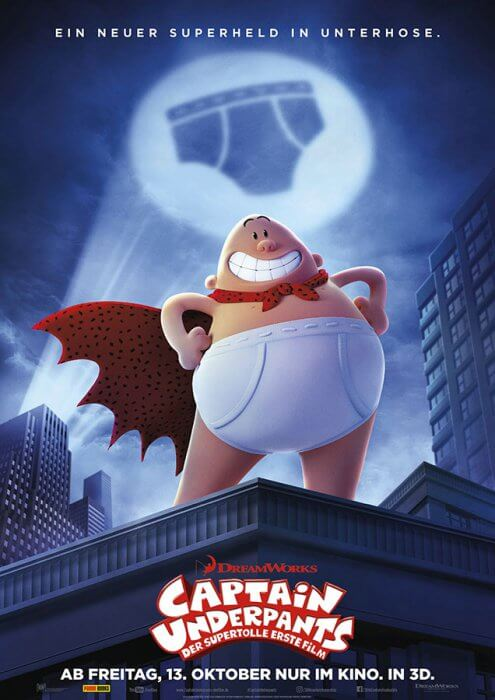 "Filmplakat zu ""Captain Underpants"""