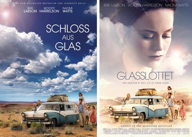 "Filmplakate zu ""Schloss aus Glas"""