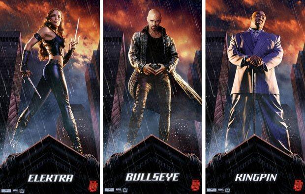 """Filmplakate zu """"Daredevil"""""""