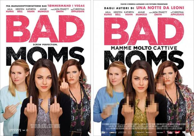 "Filmplakate zu ""Bad Moms"""