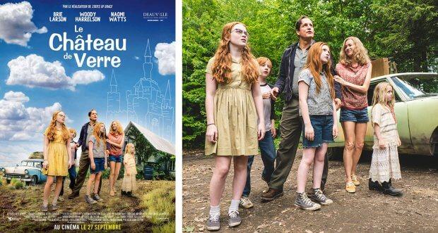 """Französisches Filmplakat von """"Schloss aus Glas"""""""