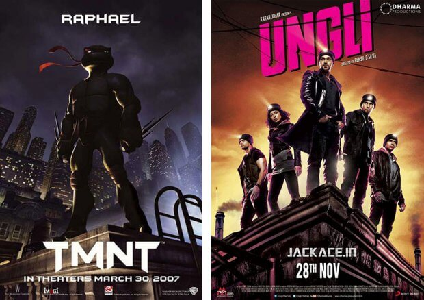 """TMNT - Teenage Mutant Ninja Turtles"" und ""Ungli"""