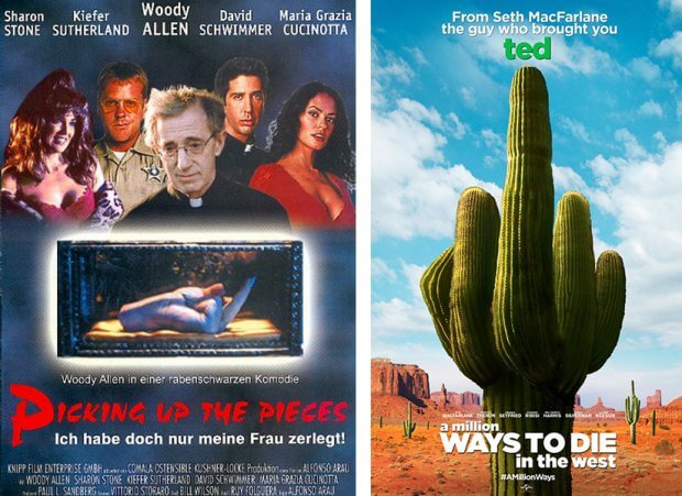 """Picking Up the Pieces"" und ""A Million Ways to Die in the West"""