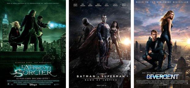 """""""Duell der Magier"""", """"Batman vs. Superman - Dawn of Justice"""" und """"Die Bestimmung - Divergent"""""""