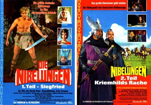 """""""Die Nibelungen, Teil 1 - Siegfried"""" und """"Die Nibelungen, Teil 2 - Kriemhilds Rache"""""""