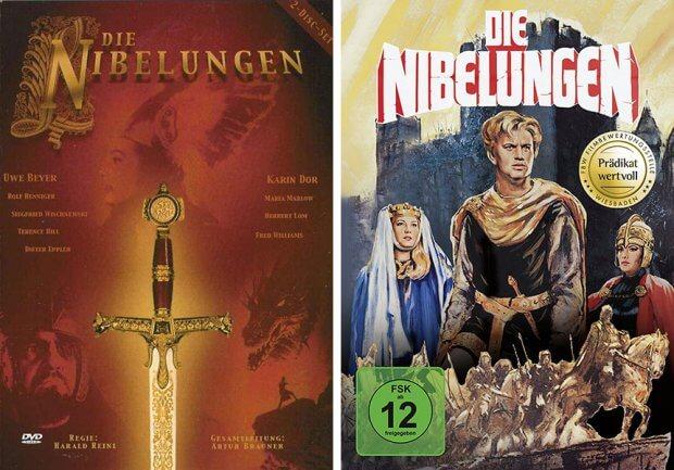 Die Nibelungen DVDs