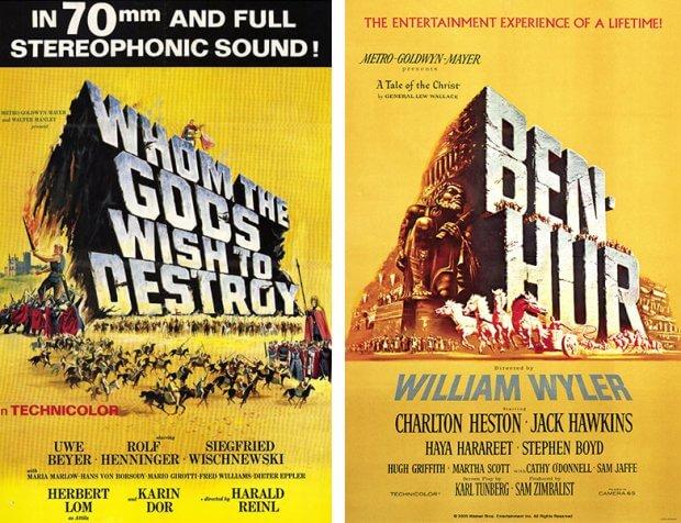 """""""Die Nibelungen"""" vs. """"Ben Hur"""""""