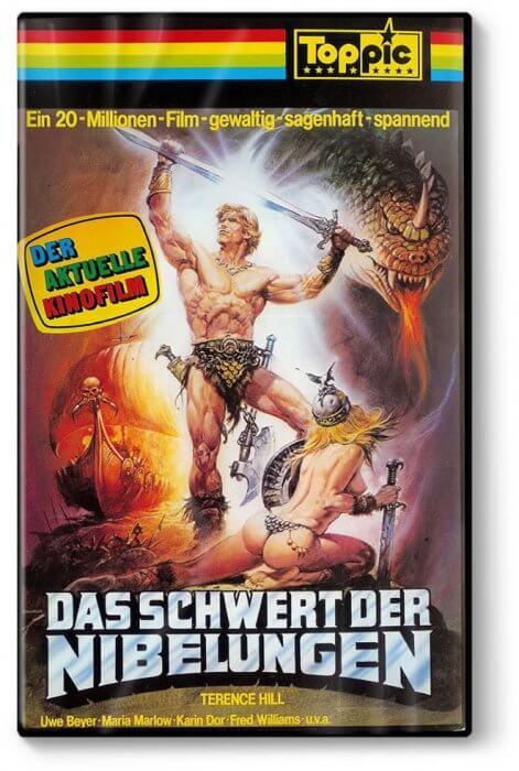 """""""Das Schwert der Nibelungen"""" VHS"""