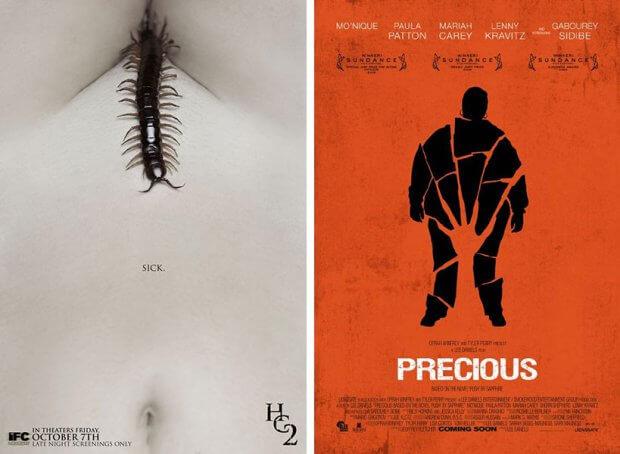 """The Human Centipede II (Full Sequence)"" und ""Precious - Das Leben ist kostbar"""