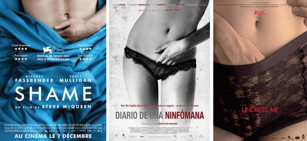 """""""Shame"""", """"Tagebuch einer Nymphomanin"""" und """"Undress me"""""""