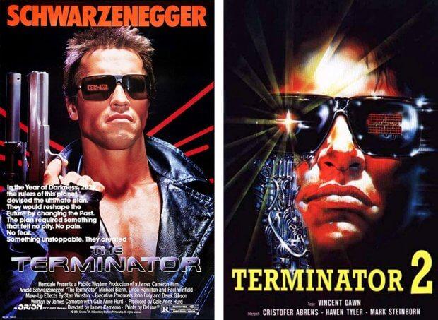 Terminator vs. Terminator 2