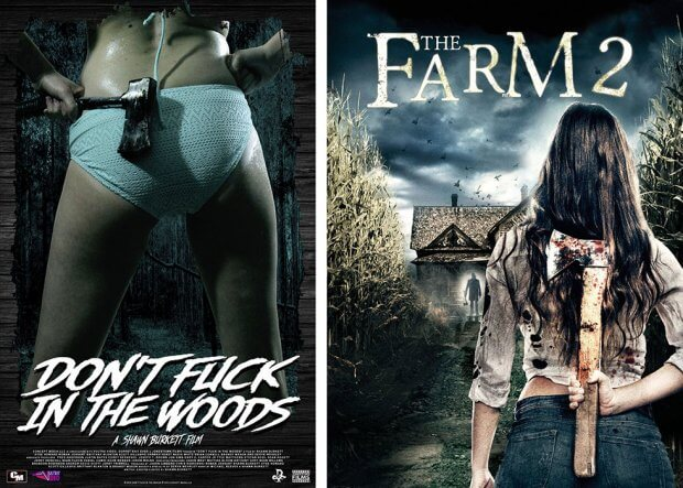 """Don't Fuck in the Woods"" und ""The Farm 2"""