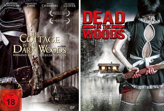 """Die Dienstmädchen von """"The Cottage in the Dark Woods"""" und """"Dead in the Woods"""""""