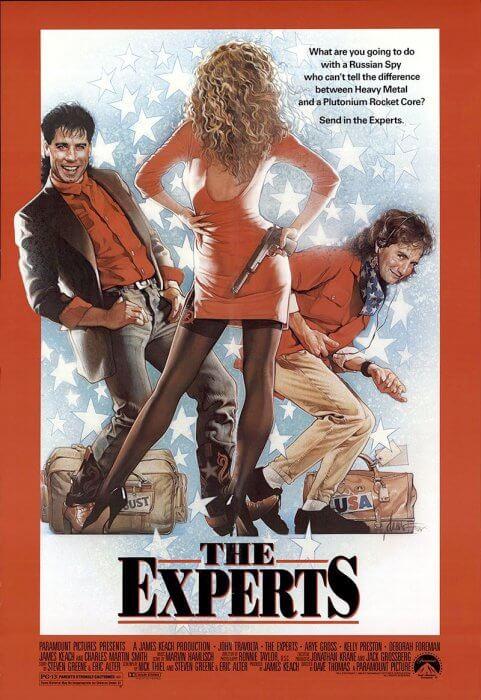 """US-Filmplakat zu """"Die Experten"""""""