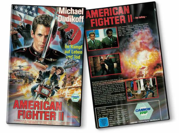 """Videocover von """"American Fighter 2"""""""