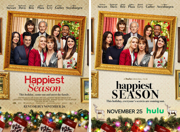 "Filmplakate zu ""Happiest Season"""