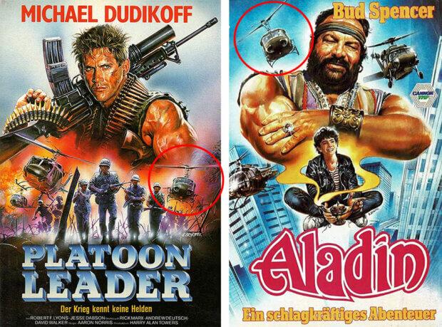 """""""Platoon Leader"""" und """"Aladin"""""""