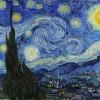 Van Gogh in einer Sternennacht